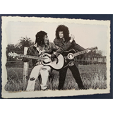 .ad/ handmade greeting card with BRIAN MAY & Seal