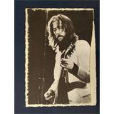 .ad/ handmade greeting card with ERIC CLAPTON early b&w