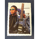 .ad/ handmade greeting card with JOE SATRIANI