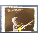 .ad/ handmade greeting card with PATRICK EGGLE guitar