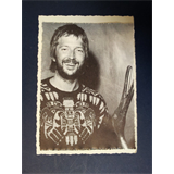 .ae/ handmade greeting card with ERIC CLAPTON