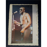 .af/ ISAAC HAYES handmade greetings card, fathersday
