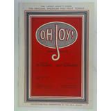 1920s fox-trot songsheet OH JOY toddle song , 5pages + cover art