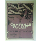 1920s piano solo CAMPANAS fox-trot 4pages + cover art , pastalle & viladomat