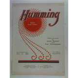 1920s songsheet HUMMING fox-trot , ray henderson 4pages + cover art