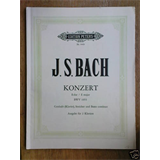 2 piano 4 hands BACH bwv 1053 E major concerto