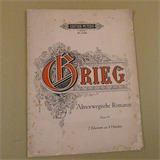 2 piano 4 hands GRIEG altnorwegische romanze Op 51, Peters 2494