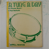 A TUNE A DAY drums . book 1 , ex-lib HB