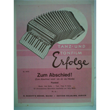 accordeon ZUM ABSCHIED ! Karl Bette