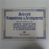 american organ music J S ANDERSON selected compositions & arrangements