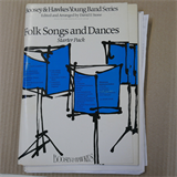 band parts FOLK SONGS AND DANCES boosey & hawkes young band series