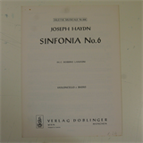 bass / cello part HAYDN SINFONIA 6 . doblinger d.10.516
