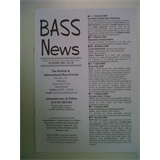 BASS NEWS Summer 2001 / No 28