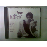 CD  DINAH WASHINGTON low down blues