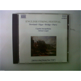 CD ENGLISH STRING FESTIVAL Capela Istropolitana Adrian Leaper