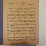 cello / bass part BIZET l`arlesienne 2nd suite , choudens AC4700