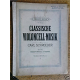 cello + piano CLASSICHE MUSIK marcello 2 sonaten / 3