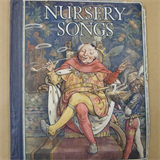 children NURSERY SONGS, vintage