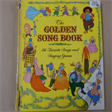children THE GOLDEN SONG BOOK Katharine Tyler Wessells