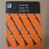 clarinet 40 MODERN STUDIES , James Rae, ue
