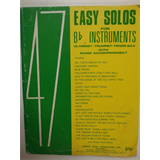 clarinet 47 EASY SOLOS FOR Bb INSTRUMENTS