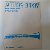 clarinet A TUNE A DAY Bk 1 C Paul Herfurth
