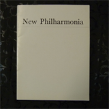 concert programme NEW PHILHARMONIA edward downes 1968