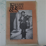 dance ENGLISH SONG & DANCE magazine vol 43 no. 3 , 1981