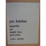 double bass GUY HALAHAN Bagatelles