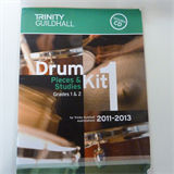 DRUM KIT 1 pieces + tudies Grades 1 + 2, 2011-2013 incl. CD Trinity Guildhall
