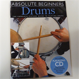 drums ABSOLUTE BEGINNER DRUMS incl. CD