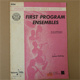 drums FIRST PROGRAM ENSEMBLES Acton Ostling
