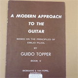 guiitar A MODEN APPROACH TO THE GUITAR Vol 5, Guitdo Topper