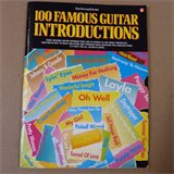 guitar 100 FAMOUS GUITAR INTRODUCTIONS fast forward series