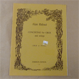 oboe ALAN RIDOUT Concertino for Oboe and strings, Emerson Ed. 76