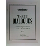 oboe ARTHUR BUTTERWORTH three dialogues
