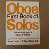 oboe FIRST BOOKS OF SOLOS, Janet Craxton, Alan Richardson