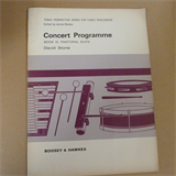 percussion CONCERT PROGRAMME Book 3 Pastoral Suite, SCORE,  David Stone