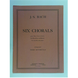 recorder / piano BACH - MONTREUILLE six chorals