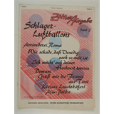zither music SCHLAGER LUFTBALLONS band 2 , 1954