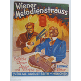 zither music WIENER MELODIENSTRAUSS band 2 , circa 1939